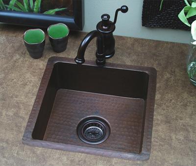 lavabo bằng đồng thau