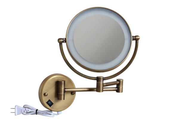 Gương cạo râu có đèn GCK18L