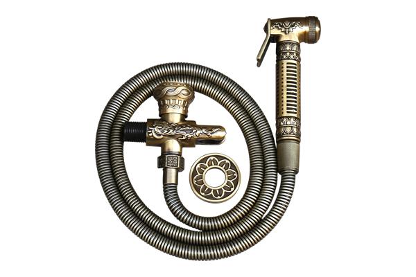 Vòi xịt rửa cổ điển đồng thau GCK23