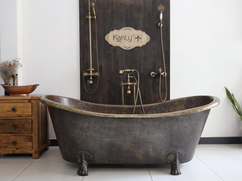 Bồn tắm bằng đồng BT09