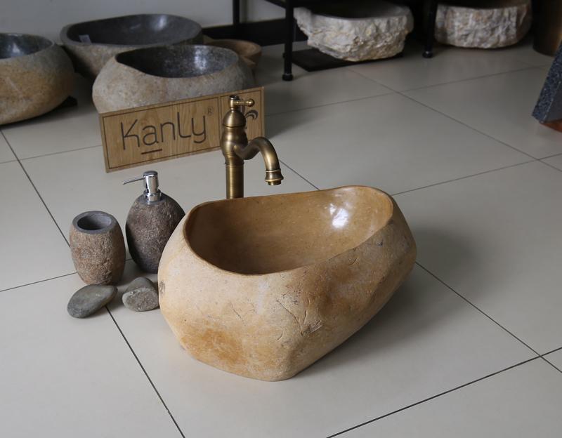 Chậu rửa bằng đá cuội MAR25D