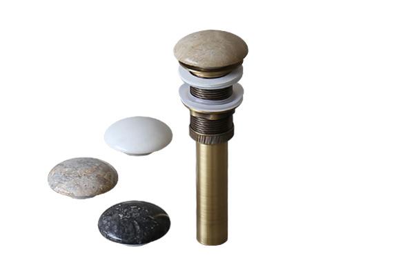 Đầu xả Lavabo bằng đá tự nhiên