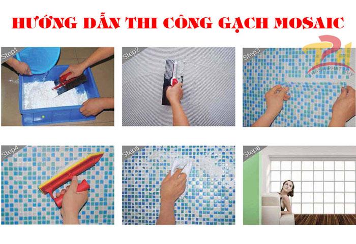 huong dan thi cong gach mosaic