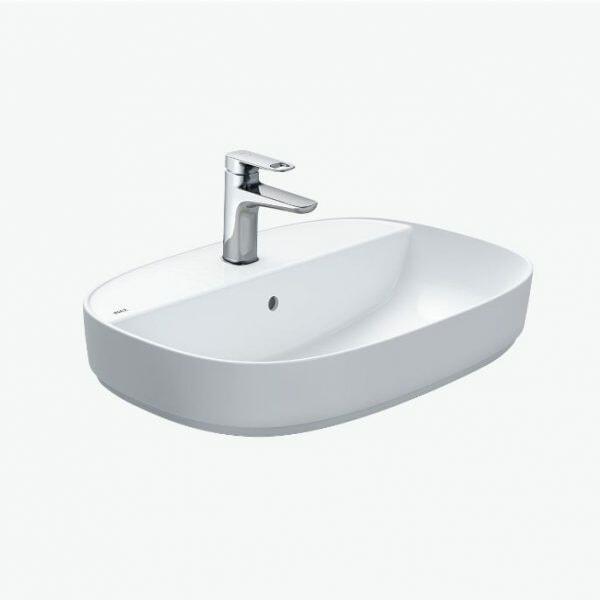 Chậu rửa mặt Inax AL-652V men Aqua Ceramic