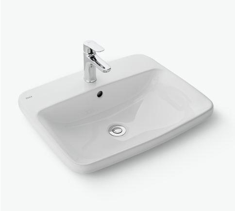 Chậu rửa mặt Inax AL-2398V(EC/FC)