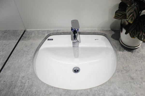 Chậu rửa mặt âm bàn Inax AL-2094V(EC/FC)