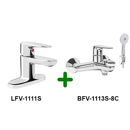 Combo INAX LFV-1111S + BFV-1113S-8C